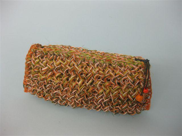 1.25 Astuccio in fibra naturale - fique 20cm x 10cm