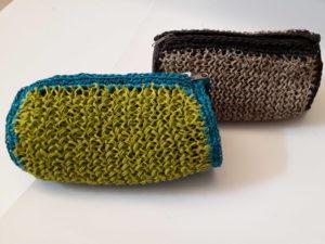 1.26 Porta cosmetico fibra naturale 20cm x 15cm